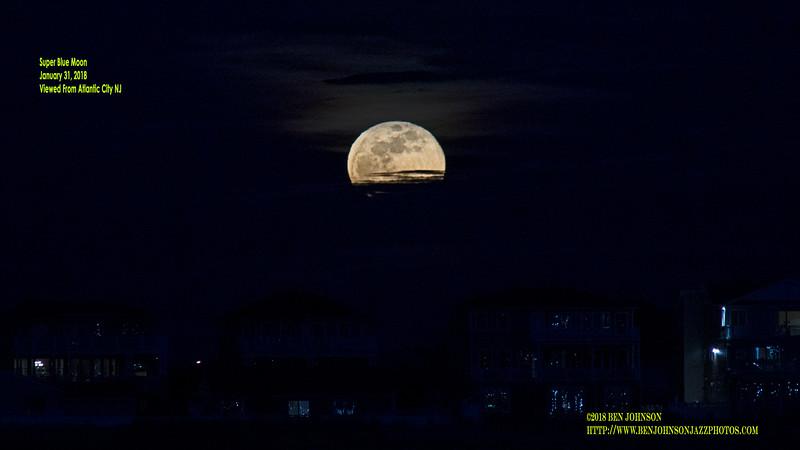 Super Blue Moon - January 31, 2018