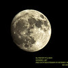 96.4 Percent Full Moon December 1, 2017