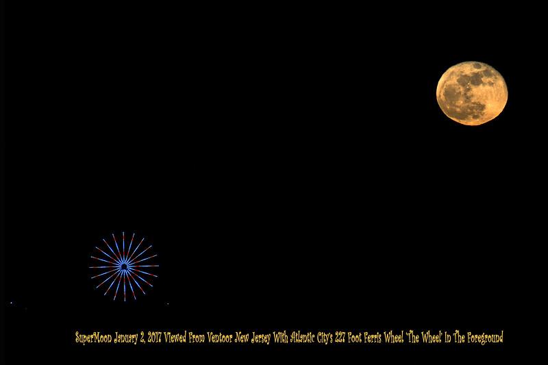 Super Moon January 2, 2018