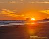 Sunset Atlantic City Beach January 6, 2019