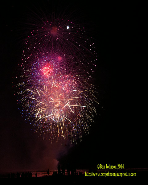 The Atlantic City Alliance presents the July 4th Holiday Fireworks show, July 6, 2014