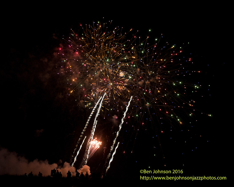 Fireworks Presented By Tropicana Casino Over The Beach In Atlantic City New Jersey June 18, 2016