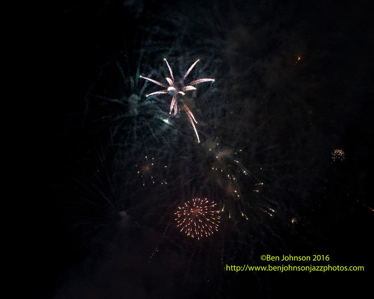 Fireworks Presented By Tropicana Casino Over The Beach In Atlantic City New Jersey June 25, 2016