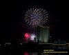 July 4th 2019 Fireworks Presented By The Borgata Hotel And Spa Viewed From Gardner's Basin In Atlantic City New Jersey