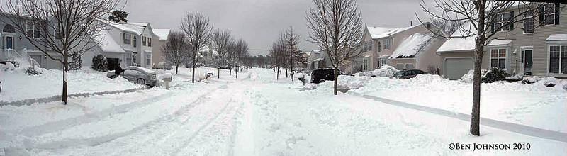 Blizzard February 6, 2010 - Fernwood Hills, Egg Harbor Township, New Jersey