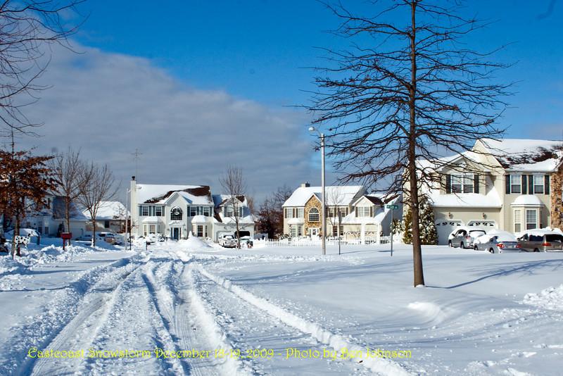 Eastcoast Snowstorm December 18-19, 2009 - Photo by Ben Johnson