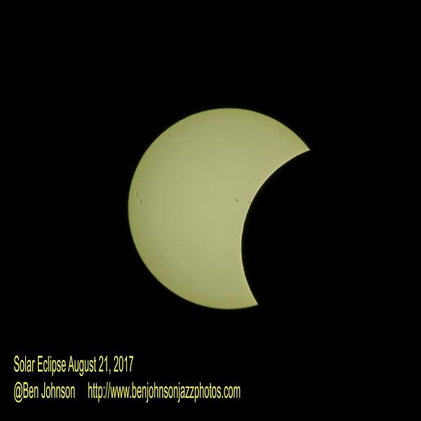 Solar Eclipse August 21, 2017
