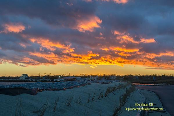Sunset - Lakes Bay 02 15 2016