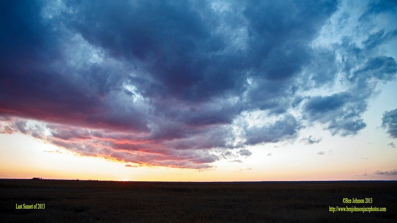 Sunset December 31, 2013 English Creek - English Creek New Jersey