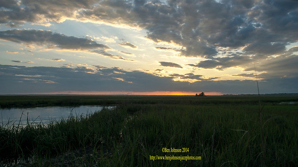 Sunset May 24, 2014 English Creek - English Creek New Jersey <br /> <br /> A sequence of 8 photographs of a Sunset viewed from English Creek in Egg Harbor Township, NJ.
