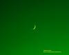 Sunset September 20, 2020 Crescent Moon