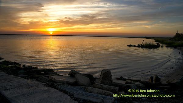 Sunset English Creek Egg Harbor Township New Jersey