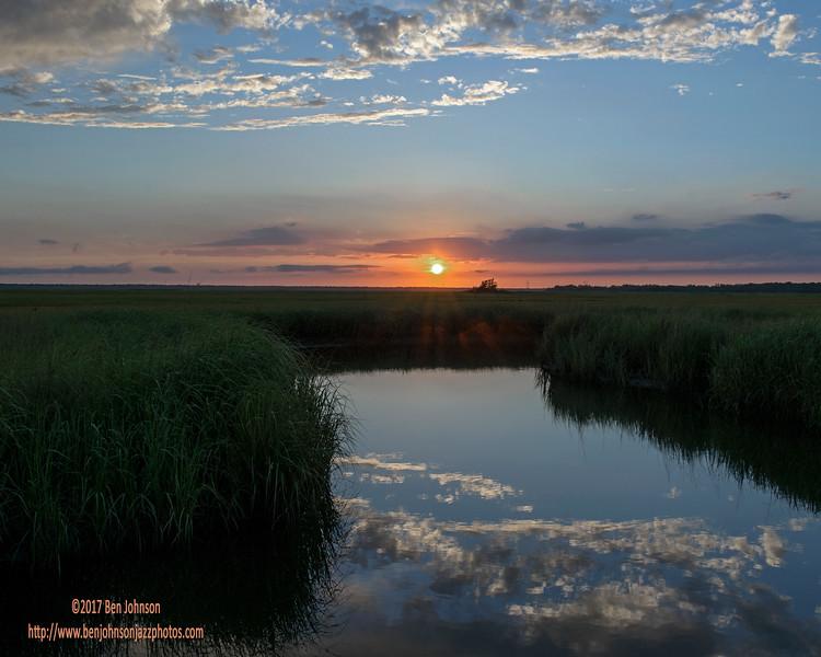 Sunset - English Creek