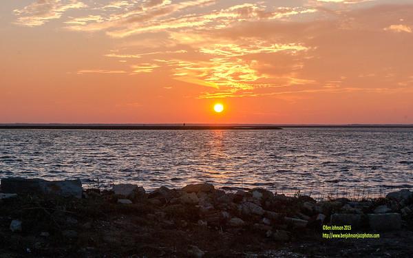 Sunset November 6, 2015 1 of 3 - English Creek New Jersey