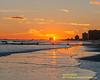 Sunset Viewed From The Atlantic City Beach January 6, 2019