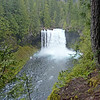 Koosah Falls on the upper McKenzie River