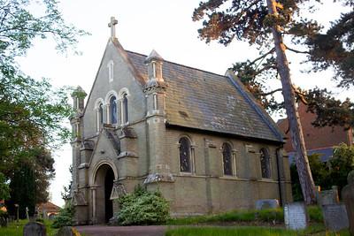 The Old Cemetery in Woodbridge, Suffolk