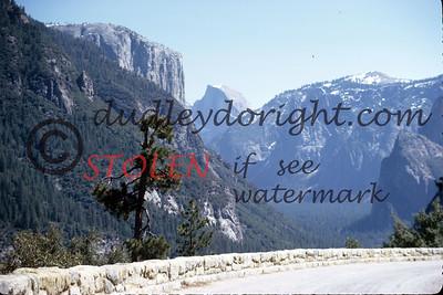 Calif1970-7-45 Yosemite Nat Park