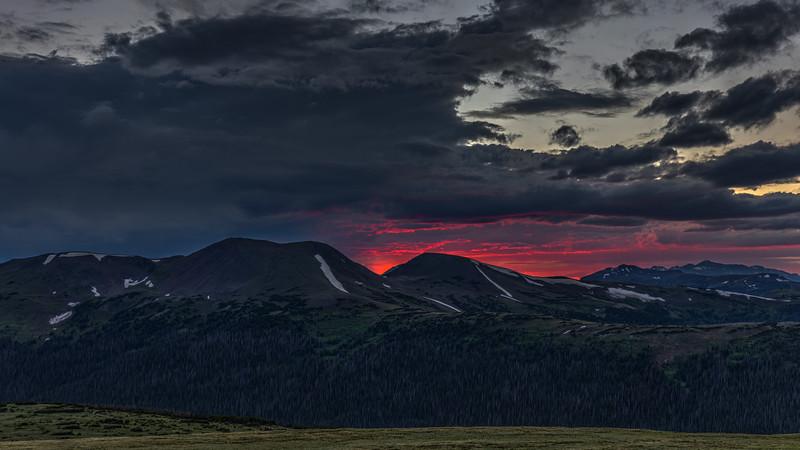 'Mordor' Sunset