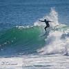 Surfer at Point Judith