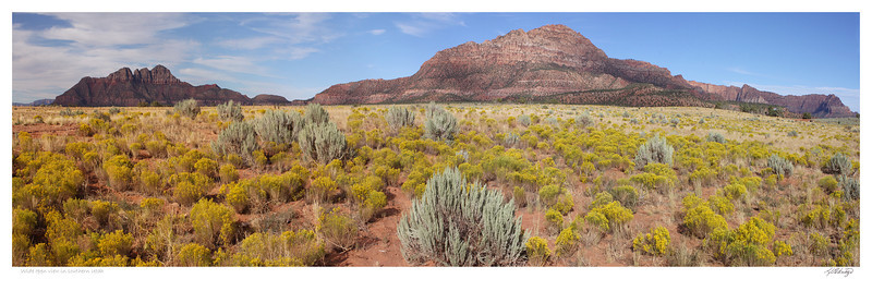 Wide open view in southern Utah