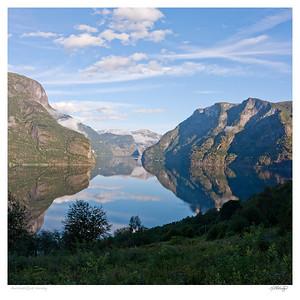 Aurlandsfjord Norway