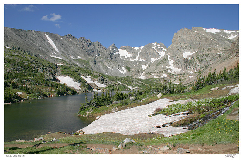 Lake Isabelle, Rocky Mountains, CO