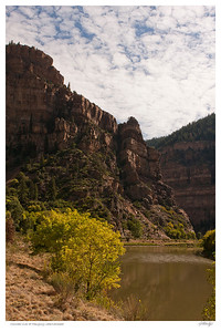 Colorado river at Hanging Lake trailhead