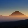 """Mt. Doom"" as the sun rises on the national park."