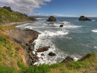 Trinidad, California coastline