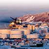 Port of Anchorage, Alaska.