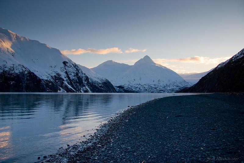 Portage Lake, Alaska.