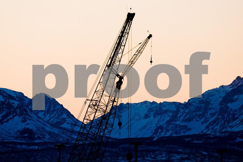 Anchorage, Chugach Mts.