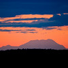 Denali (Mt. McKinley) taken from Anchorage over 130 miles away.