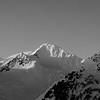 Chugach Mts. Winter sunrise.