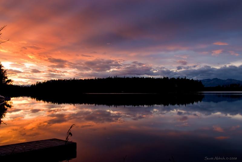 Sunrise Echo Lake, AK.