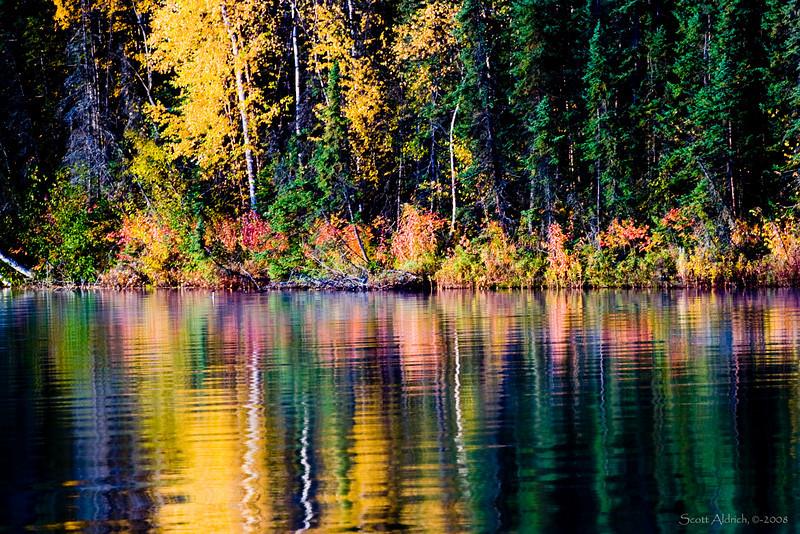 Echo Lake, Alaska.