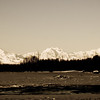 Foraker, Hunter, Denali.  Taken from Talkeetna, Alaska.