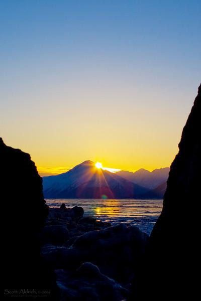 Turnagain Arm Sunrise, Alaska