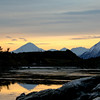 "Sunrise on the ""Turnagain"" arm of Cook Inlet, Alaska."