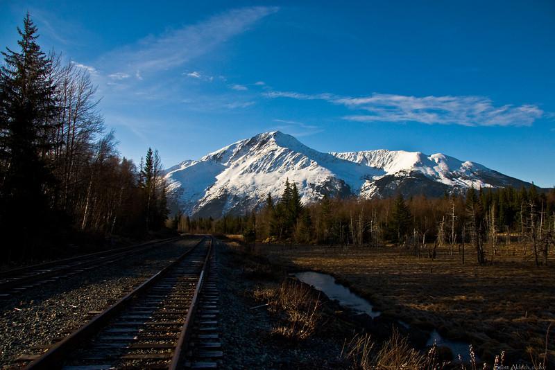 Alaska RR, Turnagain Arm, Alaska.