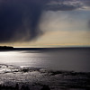 Storm over Fire Island, Anchorage Alaska.