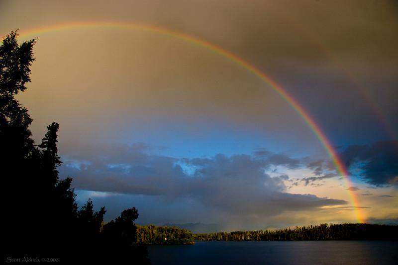 Rainbow, Echo Lake, AK