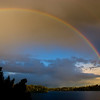 Rainbow, Echo Lake, AK