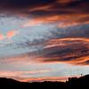 Sunset over Dirty Face Mt. near Fish Lake, Washington.