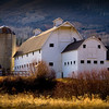 "The""White Barn"" famous Park City landmark.  Everyone has to take a photo - it's a rule."