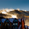 Park City Mountain Resort...making snow on the Payday lift.