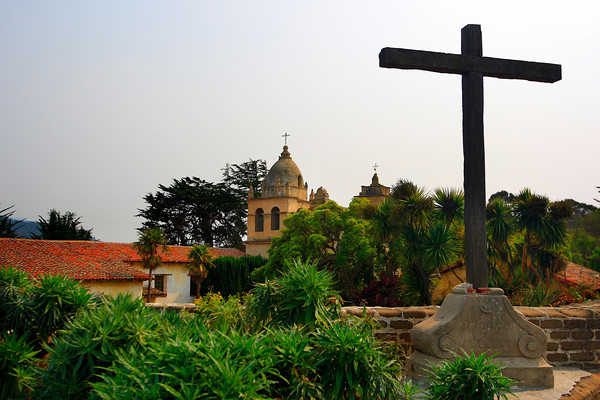 Basilica of the Carmel Mission (© James D. DeCamp | http://www.JamesDeCamp.com | 614-367-6366)