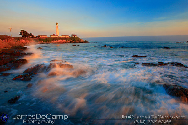 Pigeon Point Lighthouse, Pescadero, CA - Misc. California coastline photos (© James D. DeCamp | http://www.JamesDeCamp.com | 614-367-6366)