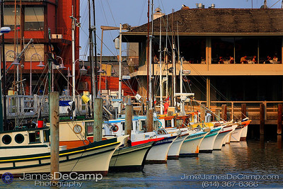 Fishing boats - Misc. California coastline photos (© James D. DeCamp | http://www.JamesDeCamp.com | 614-367-6366)